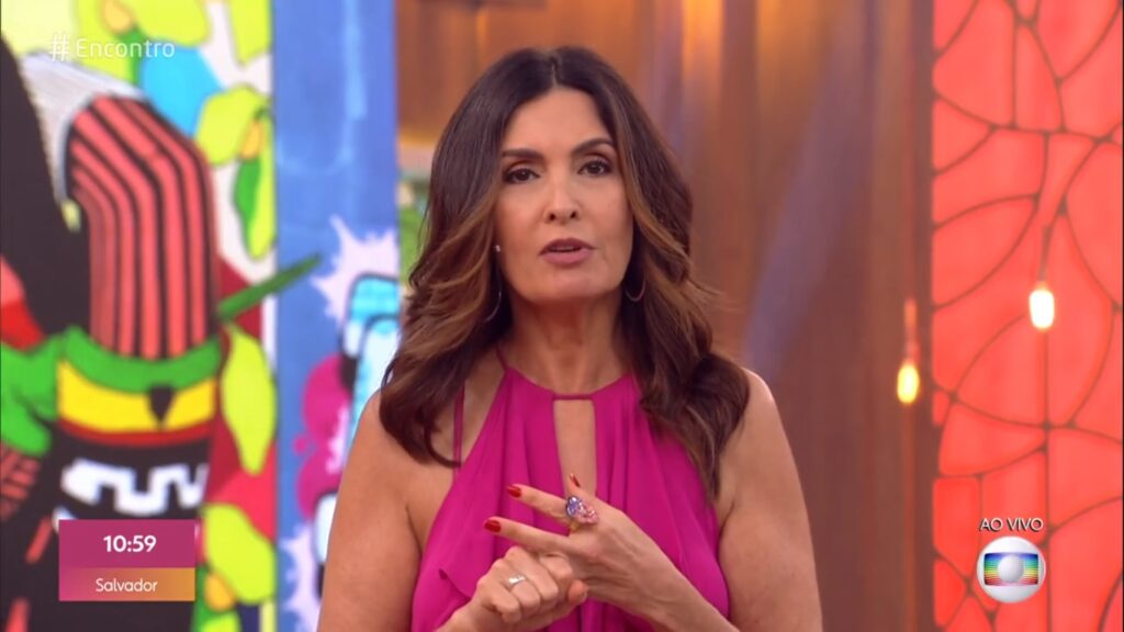 A apresentadora da Globo Fátima Bernardes conseguiu alcançar o sucesso, mas Fernanda Gentil, não.