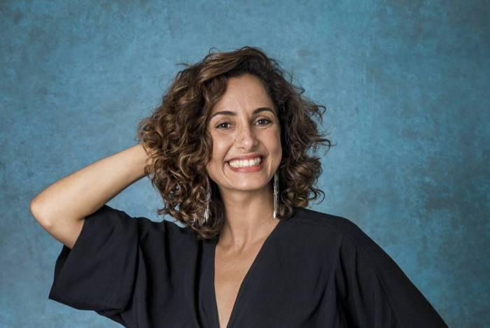 Atriz da Globo Camila Pitanga