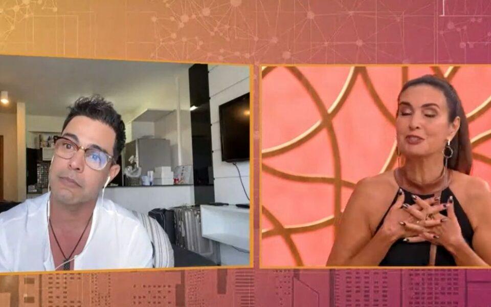 Fátima Bernardes e Zezé di Camargo
