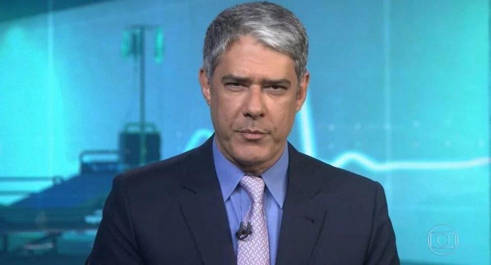 William Bonner, editor do Jornal Nacional e apresentador